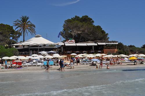 Malibú. Playa de Ses Salines.